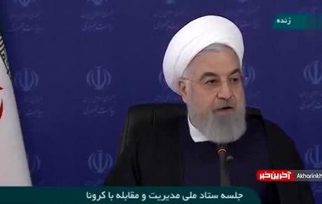روحانی: کرونا تا آخر سال با ما است