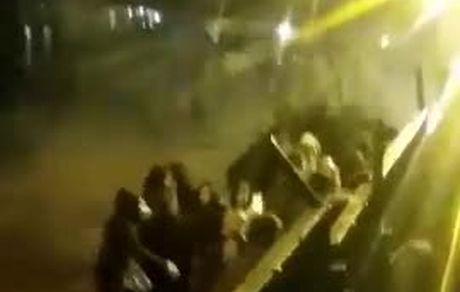 فوری/ویدئوی جدید از تجمع مردم تهران و گاز اشک آور