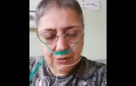 حرفهای ناراحت کننده بازیگر تلویزیون در بیمارستان: اگه نماندم حلالم کنید