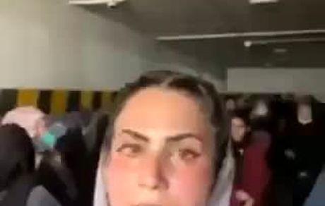 طالبان زنان معترض را در یک پارکینگ حبس کردند