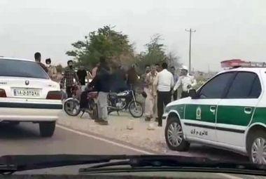 حمله کرونایی ها به مامور پلیس در ایران