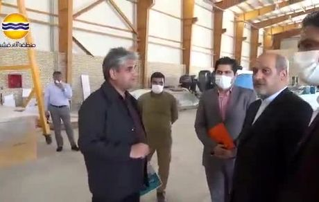 دیدار مدیرعامل سازمان منطقه آزاد قشم با رئیس دادگستری و دادستان شهرستان قشم