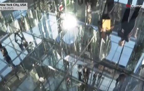 تماشای زمین از کف شیشهای برج؛ تجربهای از ارتفاع ۱۲۰۰ پایی