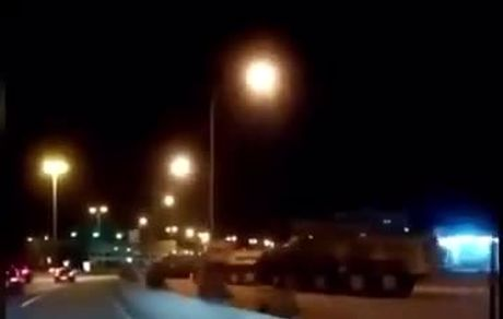 فوری/نیروهای ارتش و تانکها به صورت آماده باش در خیابانها حاضر شدند