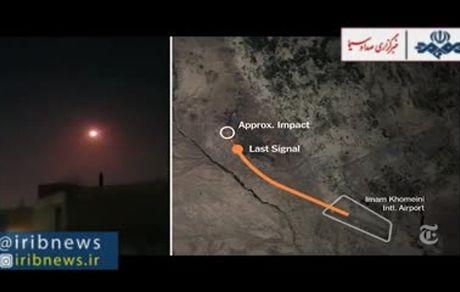 دو موشک هواپیمای اوکراینی را انداخت!