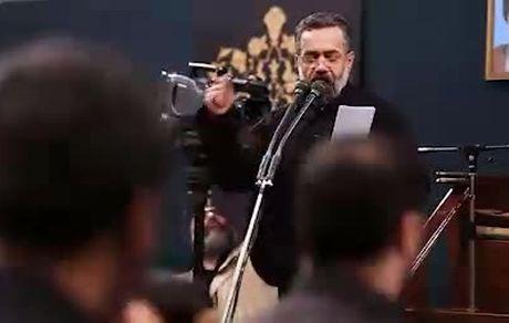 مداحی معروف برای حاج قاسم سلیمانی در حضور رهبر معظم انقلاب