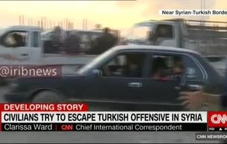 فرار خانوادههای وحشت زده در شمال سوریه در پی حملات ترکیه