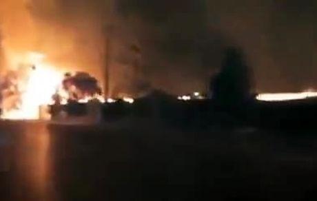 طالبان تفریحگاه بزرگ شبرغان را به آتش کشید