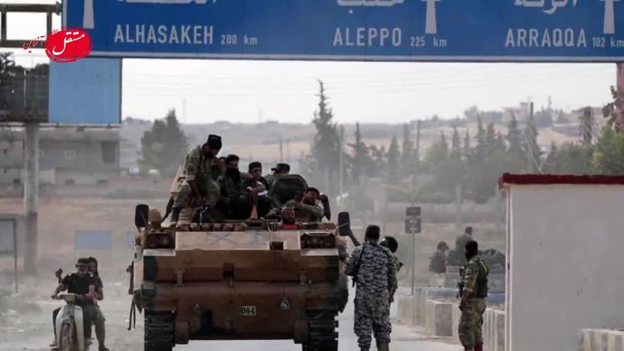 صحبتهای رئیسجمهور در نشست خبری با رسانهها درباره حمله نظامی ترکیه به سوریه