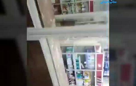 حمله به یک داروخانه در اهواز به علت نداشتن ماسک!