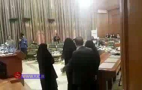 دعوای بهاره آروین و حجت نظری در شورای شهر